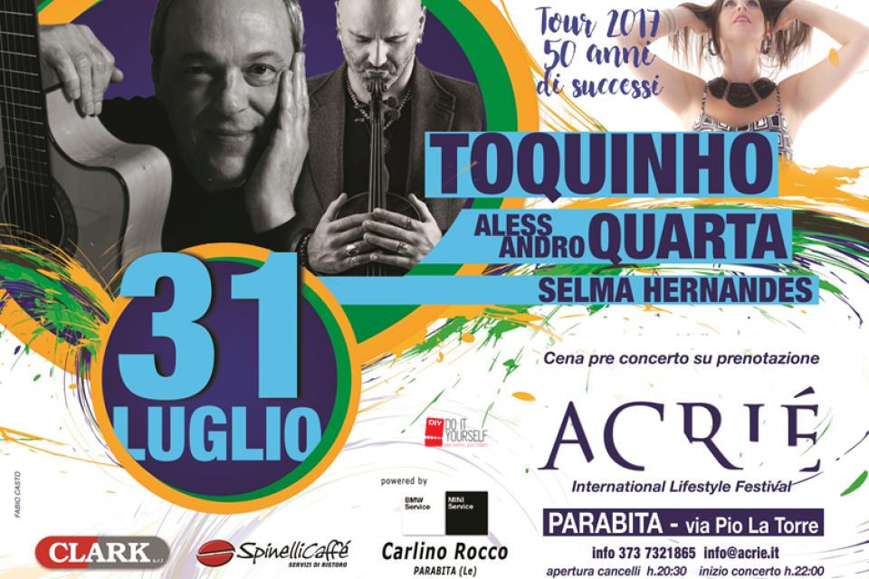 TOQUINHO, ALESSANDRO QUARTA & SELMA HERNANDES